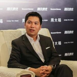 周大福珠宝集团执行董事廖振为照片