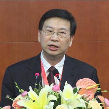 中国安防技术有限公司机器人集团首席科学家梅涛照片