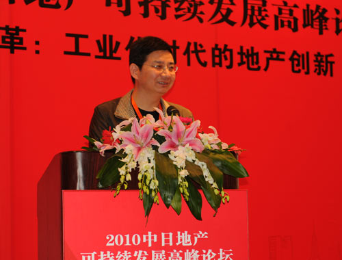 中国混凝土与水泥制品协会预制混凝土构件分会理事长蒋勤俭照片