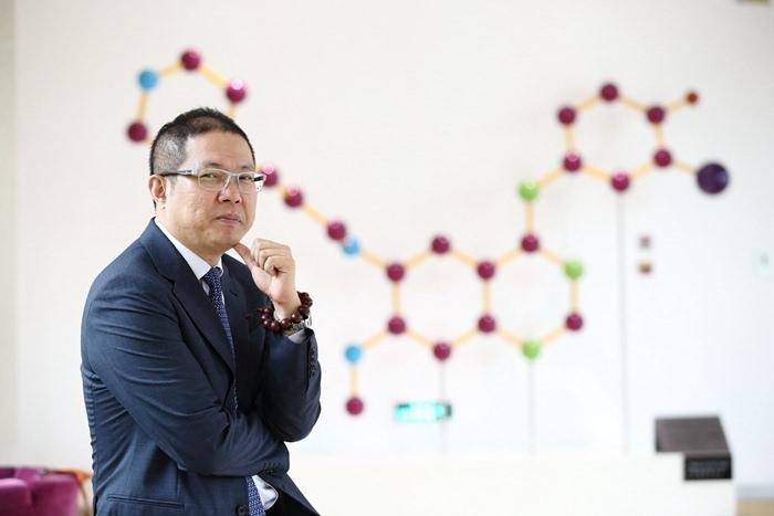 阿斯利康公司全球国际部总裁王磊照片