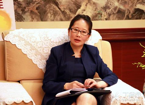 艾尔建公司中国区总裁赵萍照片