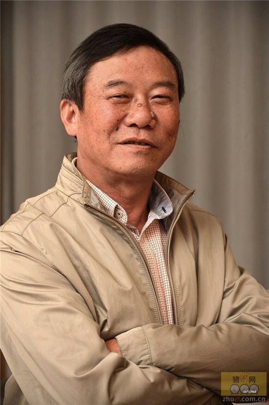 浙江沃德威先种猪育种有限公司董事长黄兴根照片