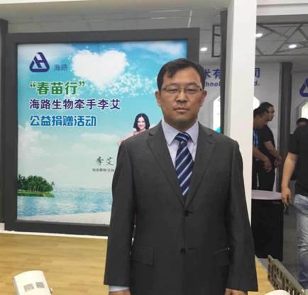 海陆科技有限公司总经理李降龙照片