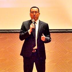 浙江大华技术股份有限公司副总裁张兴明照片