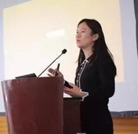 上海科技馆上海科学传播与发展研究中心副处长宋娴照片