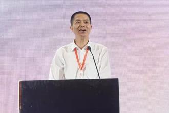 云南生物谷药业股份有限公司董事长林艳和照片
