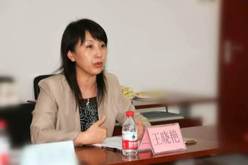 中国PPP专委会研究院 副院长王晓艳照片