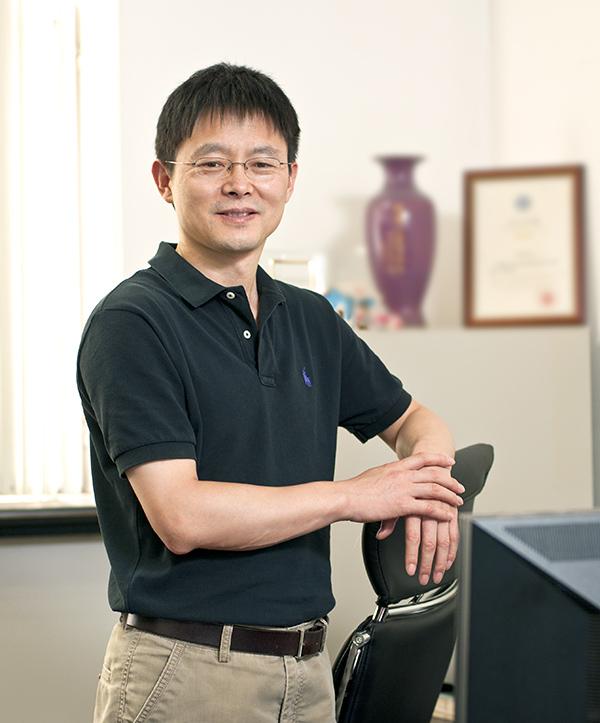 中国科学院感染与免疫重点实验室副主任王盛典照片