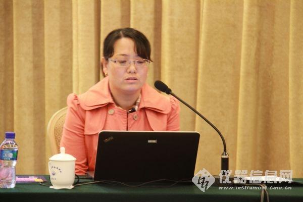 钢研纳克检测技术有限公司工程师侯红霞照片