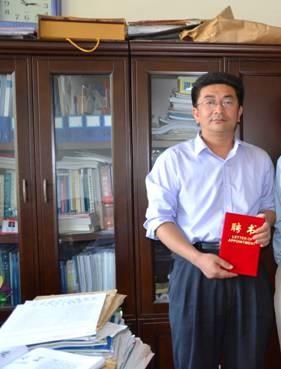 山东省农药研究院副院长李旭坤照片