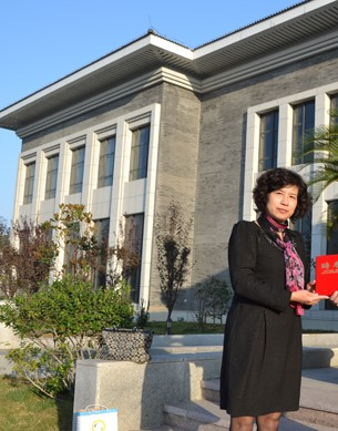 枣庄煤化工工程技术研究院院长刘雪静照片