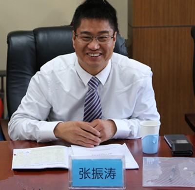 中国科学院理化技术研究所副研究员张振涛照片