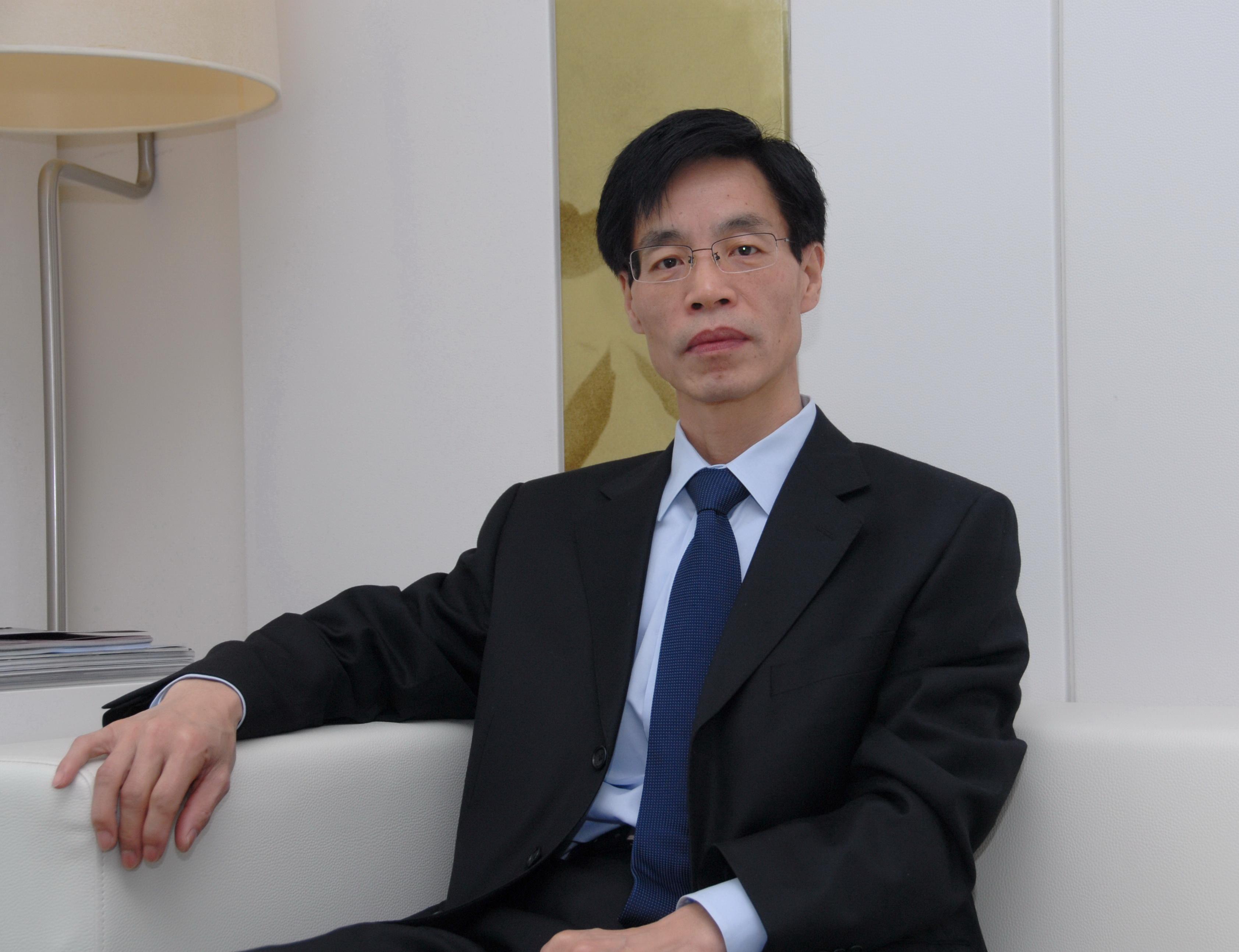 中国砂石协会会长胡幼奕