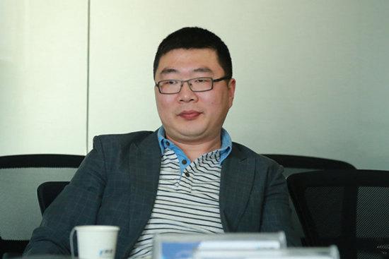 上海钢银电子商务有限公司总经理白睿照片