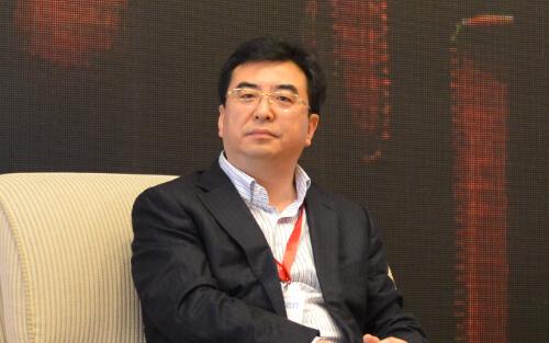 上海仁济医疗集团总裁郭跃照片