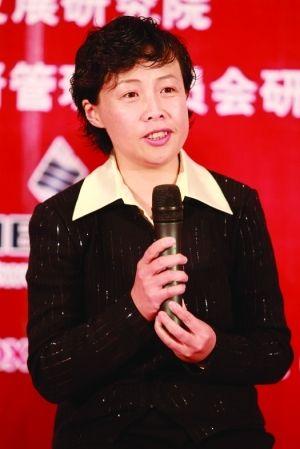 北京首都国际机场股份有限公司副总经理兼党委书记高利佳照片