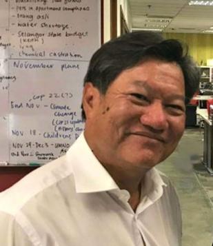 马来西亚MKH Berhad集团董事总经理Tan Sri Datuk Eddy Chen照片