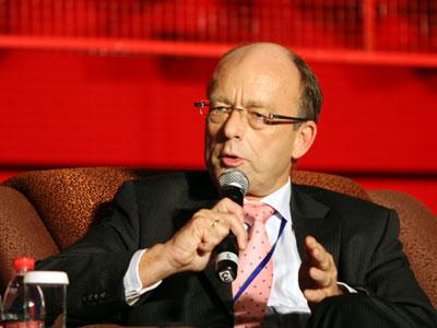 ING 亚洲区批发银行 CEOWilfred Nagel照片