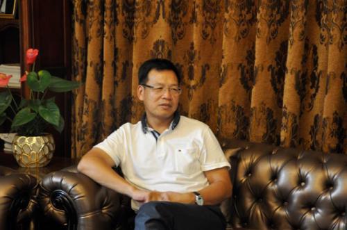 北京光谷创新置业董事长朱绍宝照片