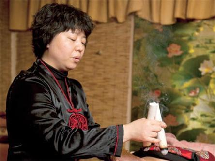 中国禅灸创始人王雅照片