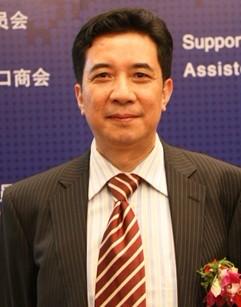 中国医药保健品进出口商会副会长刘张林照片