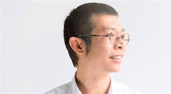 上海世博园区景观工程总顾问朱胜宣照片