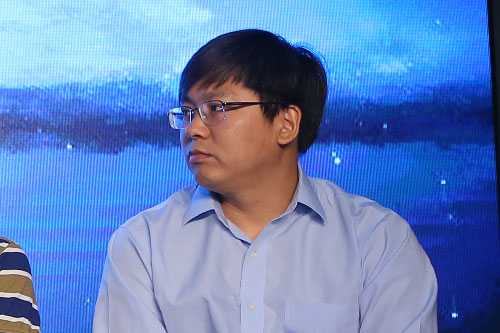 联想控股战略投资部执行董事魏凯照片