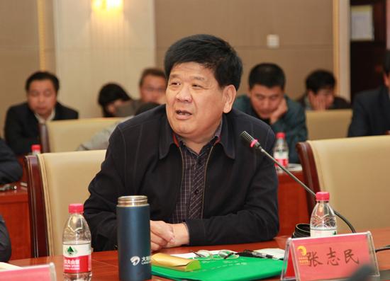 山东奶协副理事长兼秘书长张志民照片