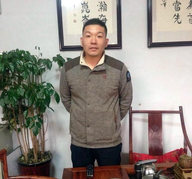 济南冠农农业发展有限公司董事长谢百万照片