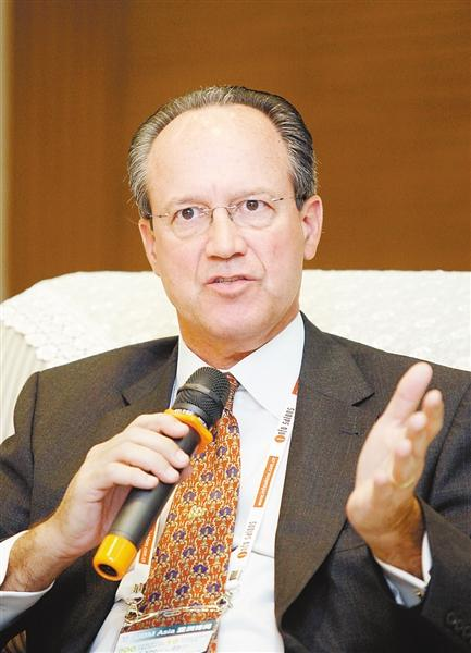 国际展览与项目协会总裁兼首席执行官  大卫·杜博伊照片