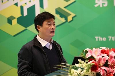民政部社会福利和慈善事业促进司养老福利处处长张晓峰照片