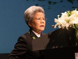 中國僑聯原副主席林麗韞 照片