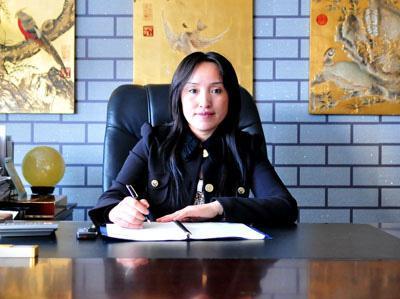 上海玛萨美容美发有限公司董事长王淑艳照片