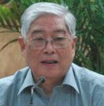 北京师范大学研究生院院长顾明远照片