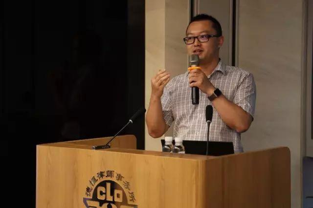 中国中铁集团资本有限公司金融市场部总经理郑超照片