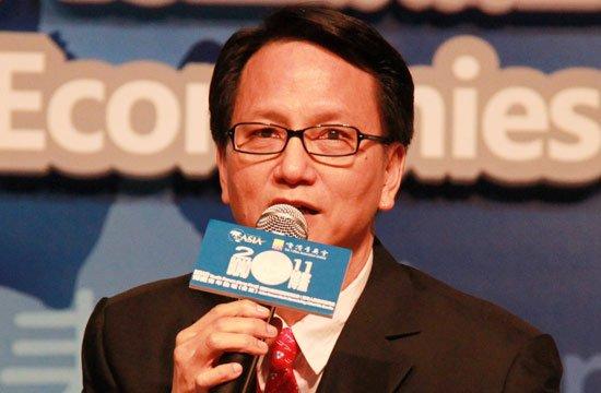 中国日报亚太分社资深顾问温华照片