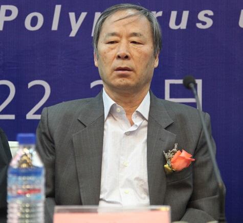 中国菌物学会副理事长文华安照片