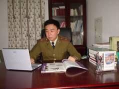 南京军区福州总医院检验科主任兰小鹏照片