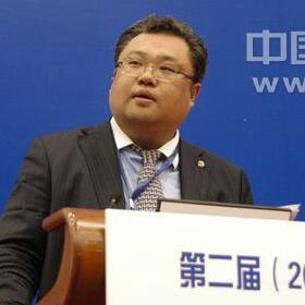 中粮集团营销总经理陈刚照片