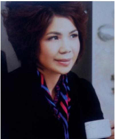 广州艾菲芭美容连锁有限公司董事长覃华照片