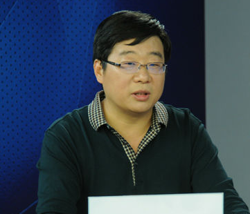 山东省农业科学院科技信息研究所农业物联网研究室主任尚明华照片