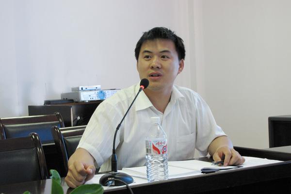 中国电建集团华东勘测设计研究院有限公司海水淡化研发中心总工张希建照片