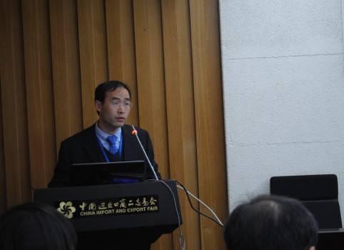 栗田工业(大连)有限公司RO技术工程师曹绪淮照片