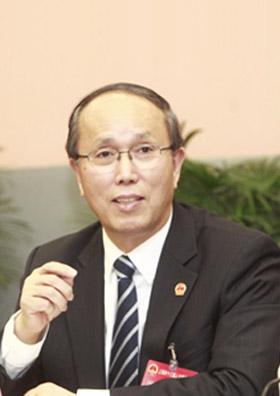 上海现代服务业联合会会长周禹鹏照片