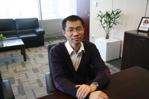 北京鄰里家養老產業投資管理有限公司運營總監李子辰照片