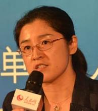 中国邮政储蓄银行电子银行部总经理李朝晖照片