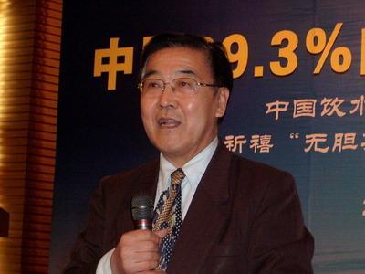 中国医促会健康饮用水专业委员会主任李复兴