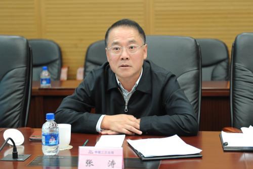 中核核电运行管理有限公司总经理张涛照片