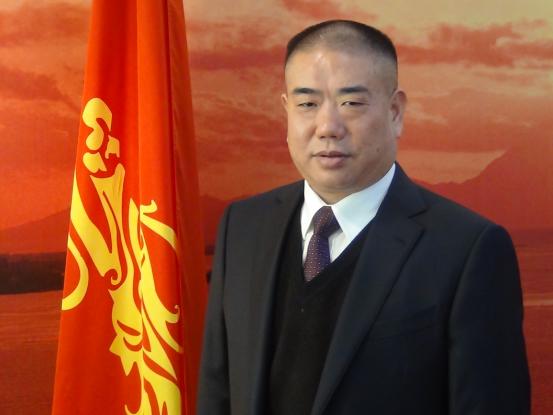 中国振乾坤投资集团董事局主席胡建华照片