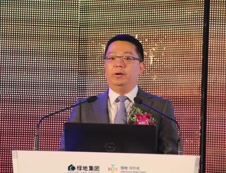 绿地商业集团常务副总经理薛迎杰照片